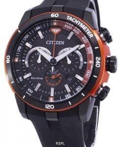 Montre Citizen Eco-Drive chronographe tachymètre CA4154-07f masculine