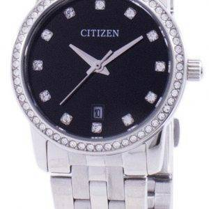 Montre Citizen Quartz diamant Accent EU6030-56E féminin