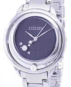 Montre Citizen L Sunrise Solitare Eco-Drive EW5520-50F féminin