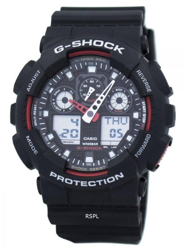 Casio G-Shock vitesse indicateur alarme GA-100-1 a 4 GA-100 montre