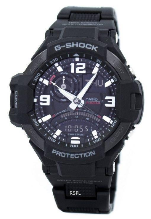 Casio G-Shock Twin Sensor GRAVITYMASTER GA-1000FC-1 a montre homme