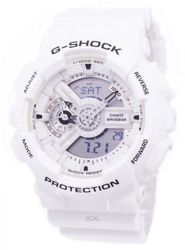 Casio G-Shock résistant aux chocs analogique numérique GA-110MW-7 a GA110MW-7 a montre homme