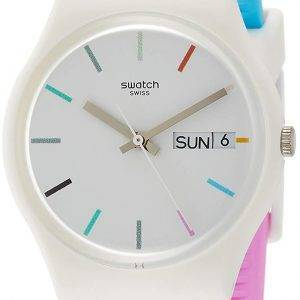 Montre Swatch Originals Edgyline analogique Quartz GW708 masculin