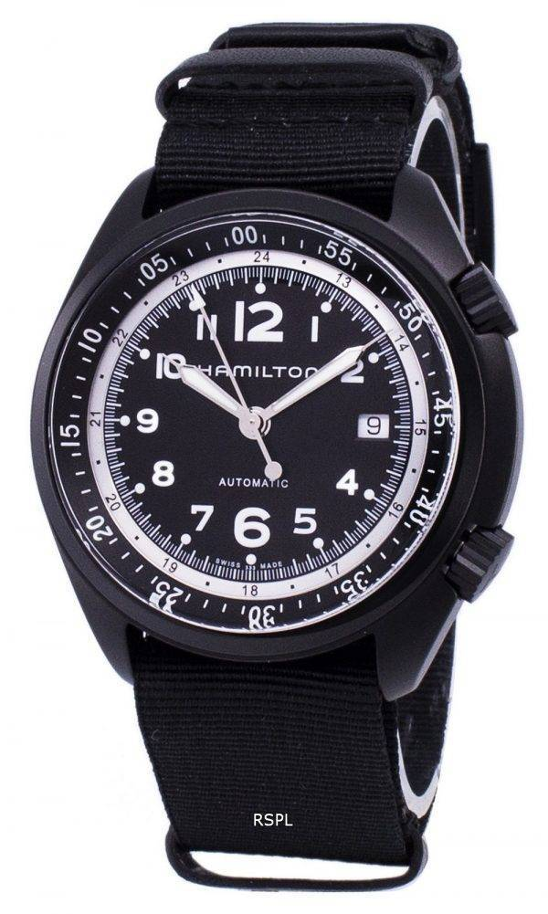 Hamilton Khaki Aviation pilote pionnier H80485835 automatique montre homme