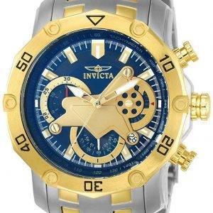 Montre Invicta Pro Diver chronographe tachymètre Quartz 22762 homme