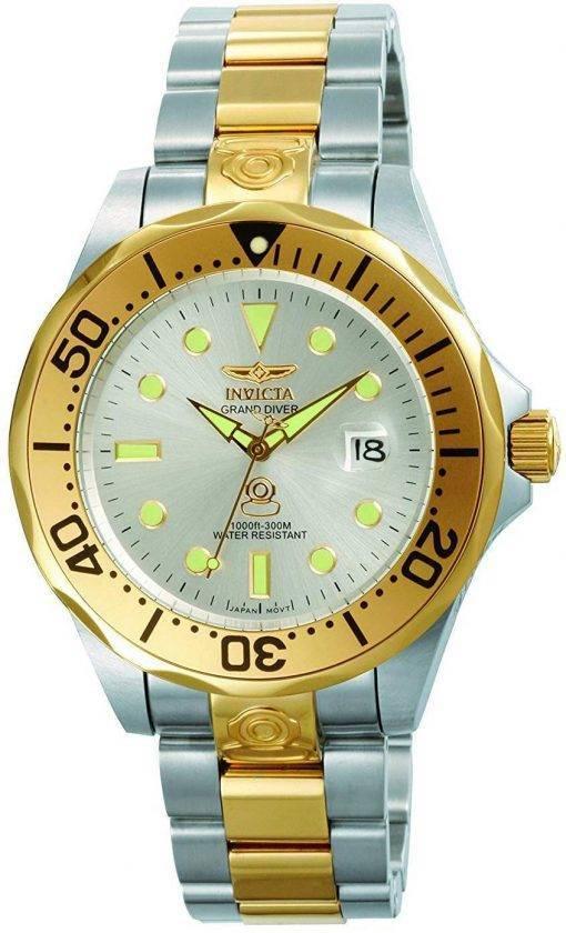 Invicta Pro Diver Plongeur Grand automatique 300M 3050 montre homme