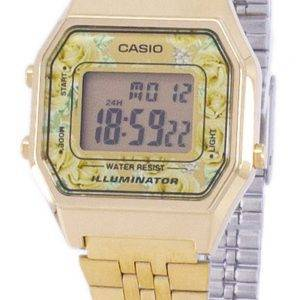 Casio Vintage jeunesse illuminateur Digital LA680WGA - 9c Women Watch
