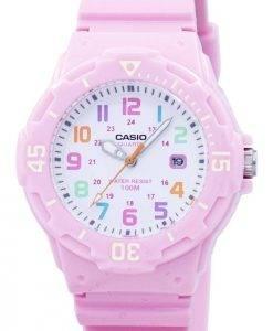 Casio résine rose Bracelet LRW-200H-4B2VDF LRW-200H-4B2V Montre Femme