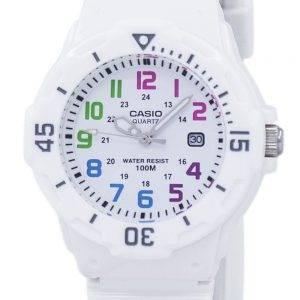 Casio Enticer analogique cadran blanc LRW-200H-7BVDF Montre LRW-200H-7BV femmes