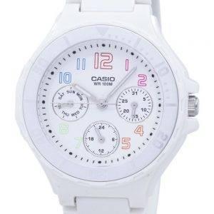 Analogique Casio résine blanche LRW-250H-7BVDF LRW-250H-7BV montre