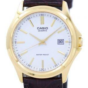 Casio Quartz analogique cadran blanc or ton PSG-1183Q-7ADF PSG-1183Q-7 a montre homme