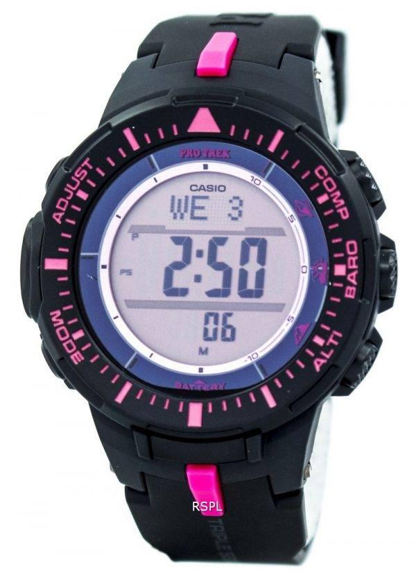Casio Protrek Triple Sensor Tough Solar PRG-300-1 a 4 montre