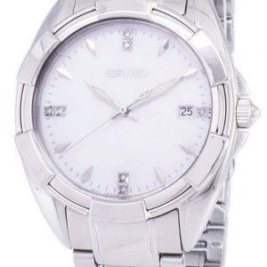 Seiko Quartz diamant Accents Watch SKK885 SKK885P1 SKK885P féminin