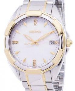 Seiko Quartz diamant Accents Watch SKK886 SKK886P1 SKK886P féminin