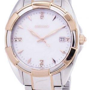 Seiko Quartz diamant Accents Watch SKK888 SKK888P1 SKK888P féminin