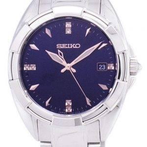 Seiko Quartz diamant Accents Watch SKK889 SKK889P1 SKK889P féminin