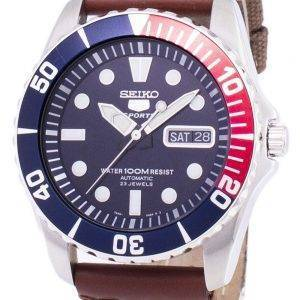 Seiko 5 Sports automatique toile sangle SNZF15K1-NS1 hommes