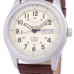 Seiko 5 Sports automatique toile sangle SNZG07K1-NS1 hommes