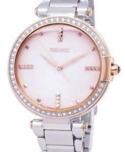 Seiko Quartz diamant Accents Watch SRZ514 SRZ514P1 SRZ514P féminin