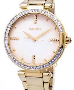 Seiko Quartz diamant Accents Watch SRZ518 SRZ518P1 SRZ518P féminin