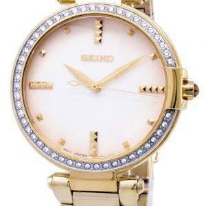 Seiko Quartz diamant Accents Watch SRZ518 SRZ518P1 SRZ518P féminin