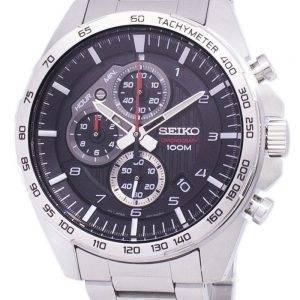 Montre Seiko chronographe tachymètre Quartz SSB319 SSB319P1 SSB319P hommes