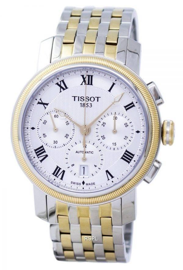 Montre Tissot T-Classic Bridgeport chronographe automatique T097.427.22.033.00 T0974272203300 masculin