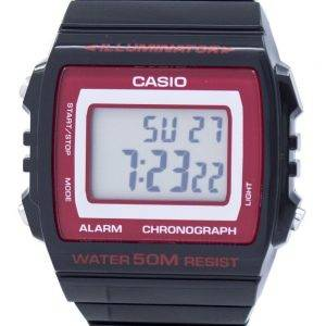 Casio Illuminator alarme chronographe montre unisexe numérique W-215H-1A2VDF W215H-1A2VDF