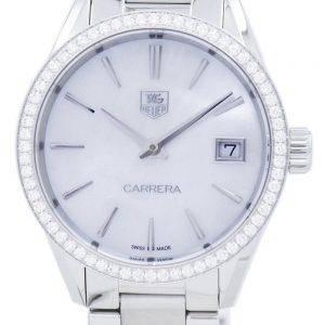TAG Heuer Carrera Quartz diamant Accent WAR1315. BA0778 Women Watch