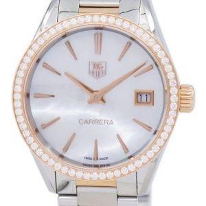 TAG Heuer Carrera Quartz diamant Accent WAR1353. BD0779 Women Watch
