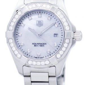 TAG Heuer Aquaracer Quartz diamant Accent WAY1414. BA0920 Women Watch