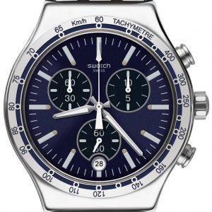 Swatch Irony habiller mon poignet chronographe tachymètre YVS445G montre homme