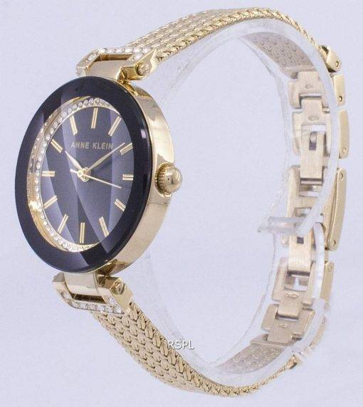 Anne Klein Quartz diamant Accents 1906BKGB Women Watch
