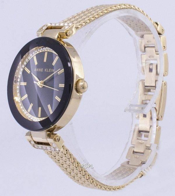 Anne Klein Quartz diamant Accents 1906BKGB Women Watch