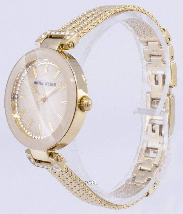 Anne Klein Quartz diamant Accents 1906TMGB Women Watch