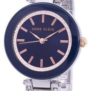 Anne Klein Quartz diamant Accent 1907NVRT Women Watch