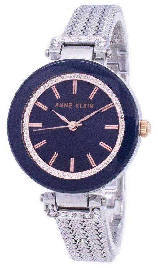 Anne Klein Quartz diamant Accent 1907NVRT Women Watch