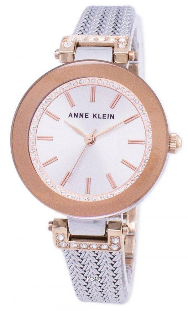 Anne Klein Quartz diamant Accents 1907SVRT Women Watch