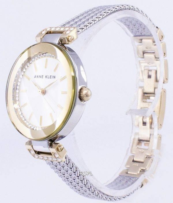 Anne Klein Quartz diamant Accents 1907SVTT Women Watch