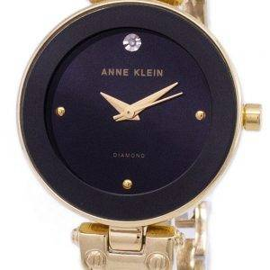 Anne Klein Quartz diamant Accents 1980BKGB Women Watch