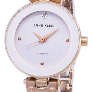 Anne Klein Quartz diamant Accents 1980WTRG Women Watch