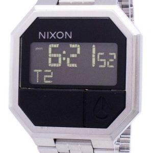 Nixon re-exécution double alarme numérique A158-000-00 montre homme