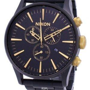 Montre Nixon Sentry Chrono Quartz A386-1041-00 masculin