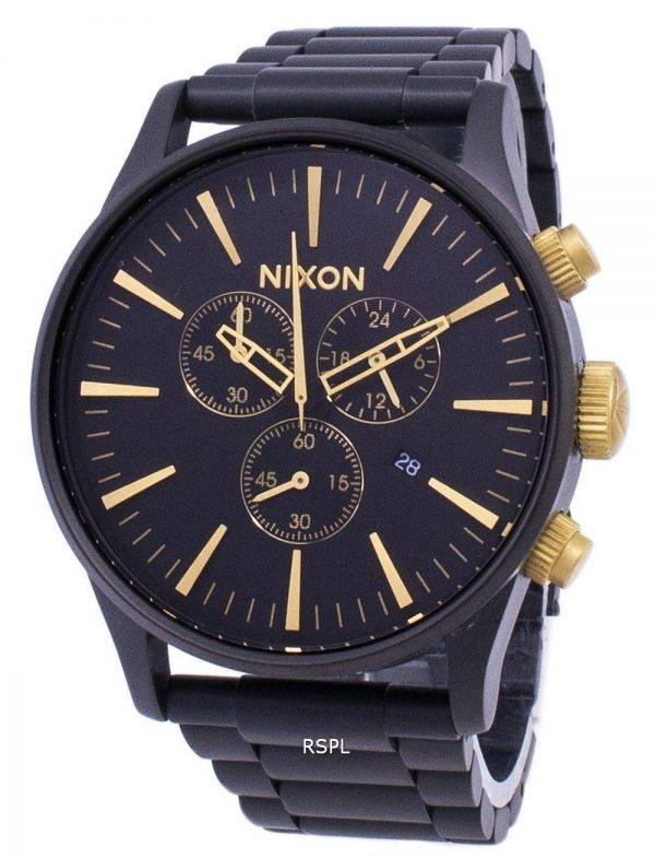 Montre Nixon Sentry Chrono Quartz A386-1041-00 masculin