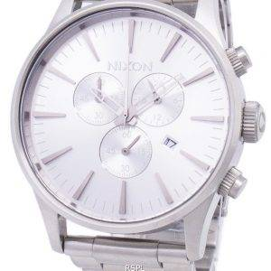 Montre Nixon Sentry Chrono Quartz A386-1920-00 masculin