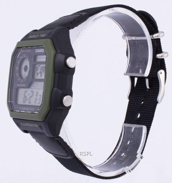 Jeunesse de Casio série digimonde temps AE-1200WHB-1BVDF AE-1200WHB-1BV montre homme