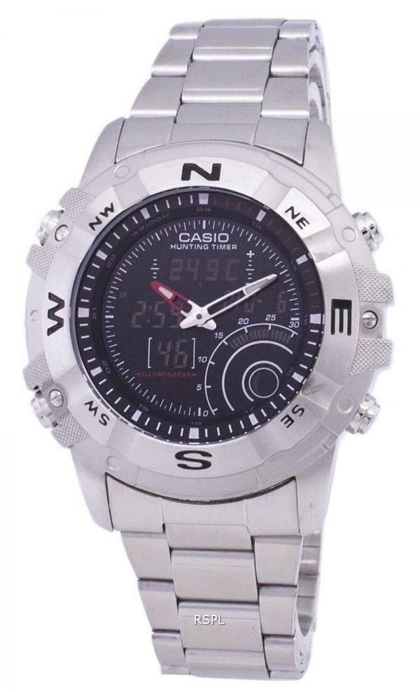 Casio analogique numérique équipement chasse minuterie AMW-705D-1AVDF AMW-705D-1AV montre homme