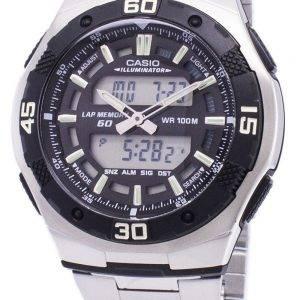 Analogique Casio numérique jeunesse série illuminateur AQ-164WD-1AVDF AQ-164WD-1AV montre homme
