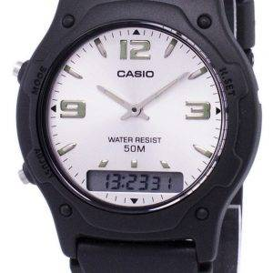 Analogique Casio Digital Quartz Dual Time AW-49HE-7AVDF AW-49HE-7AV montre homme