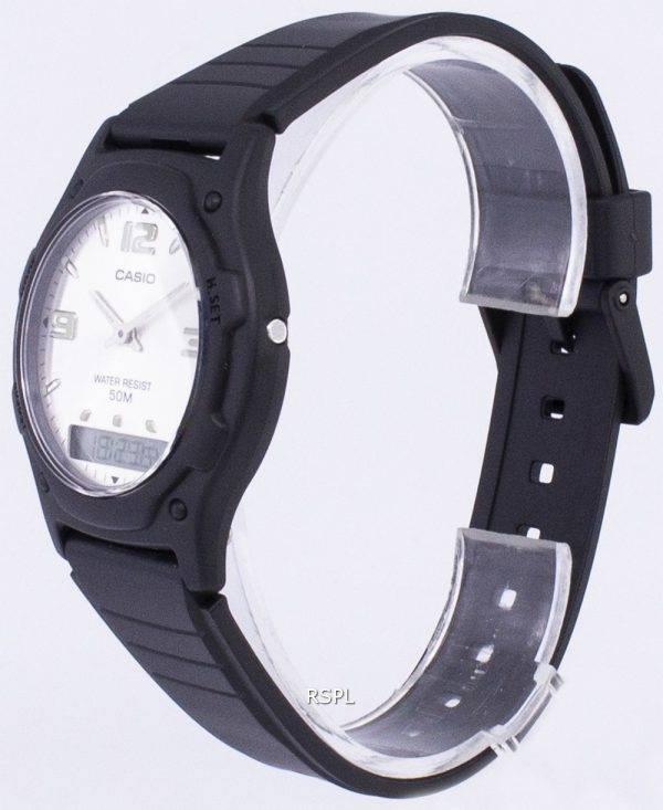 Analogique Casio Digital Quartz Dual Time AW-49HE-7AVDF AW-49HE-7AV montre homme